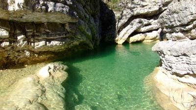Gorges de Saint may 2